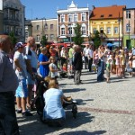 Bezpieczne wakacje na wąbrzeskim rynku
