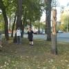 Rzeźba pt. Ona i on