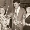 1971-zabawa karnawałowa, od lewej p. Gręźlikowska, p. Olejnik, p. Fabiszewska popr
