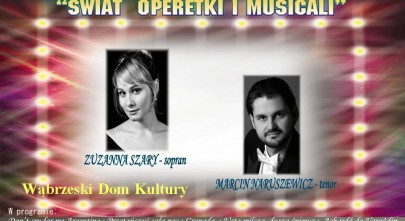 Plakat Koncert Operetki