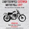VII wystawa motocykli plakat-1 z automobilistą